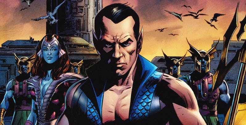 Marvel Studios inició el casting para película de nuevo héroe Never-X-Namor