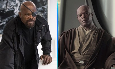 Mace Windu y Nick Fury