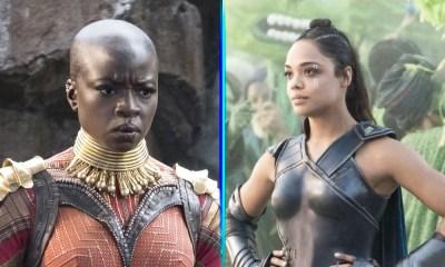 Okoye y Valkyrie se lucían más en 'Avengers: Endgame'