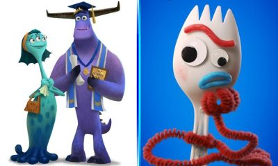 Series de Forky y Monsters Inc.