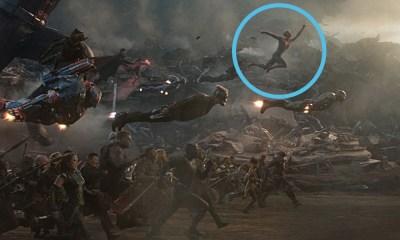 Cómo se columpiaba Spider-Man en la batalla de 'Endgame'