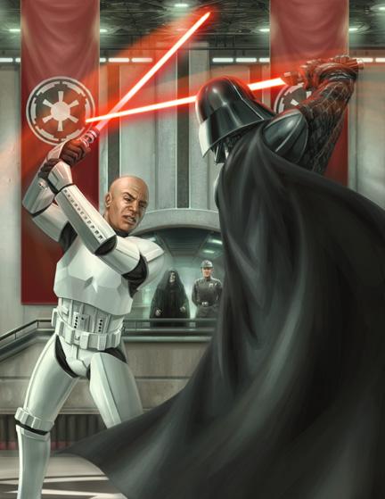 Revelan que los sables de luz no iban a ser exclusivos de Jedis y Siths V_sparring_C_clone