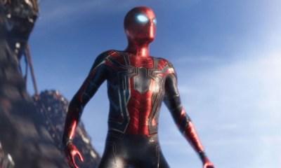 Spider-Man con el guantelete