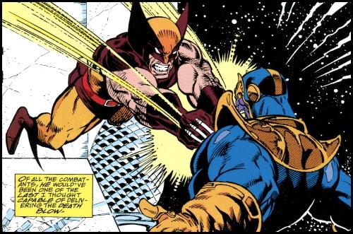 ¿Qué pasaría en una batalla entre Thanos vs Wolverine? war2018-0425a