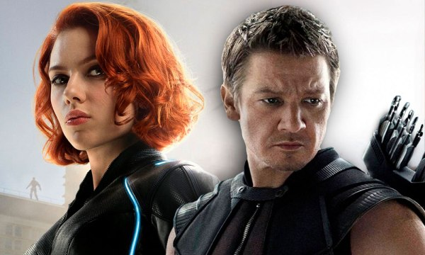 Black Widow y Hawkeye llevan su pelea final a la vida real Hawkeye-600x360