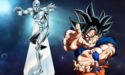 Silver Surfer copió a Goku