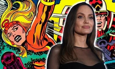 primeras imágenes de Angelina Jolie en 'Eternals'