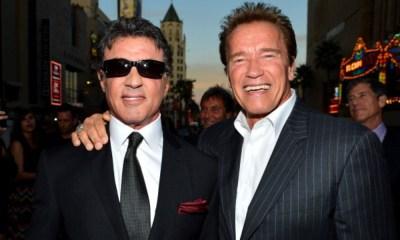 Arnold Schwarzenegger envió un mensaje a Sylvester Stallone