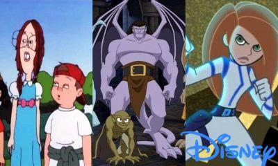 Serie Las Gárgolas llega a Disney Plus