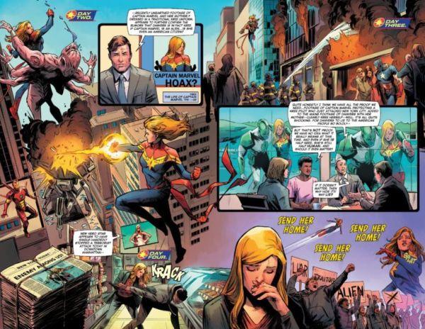 Captain Marvel de la más odiada ¿a la más amada del MCU? Captain-Marvel-8-Star-Outshines-Carol-Danvers-600x464