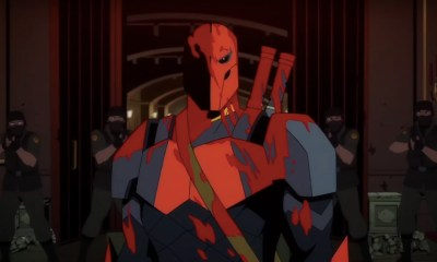 Primer trailer de la serie animada de Deathstroke