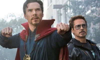 Benedict Cumberbatch imitó a Robert Downey Jr.