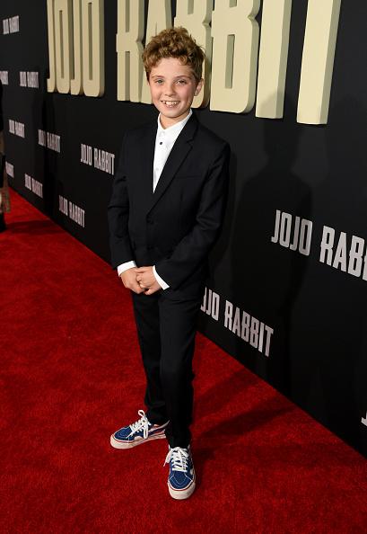 Las estrellas del MCU brillaron en la alfombra roja de 'Jojo Rabbit' Jojo-Rabbit-Red-Carpet-12