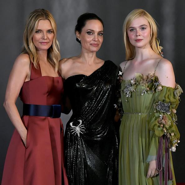 Angelina Jolie se apoderó de la alfombra roja de 'Maleficent: Mistress of Evil' Maleficent-008