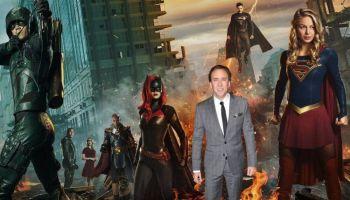 Nicolas Cage como superman en el arrowverse