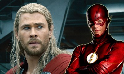 Referencia de Thor en 'The Flash'