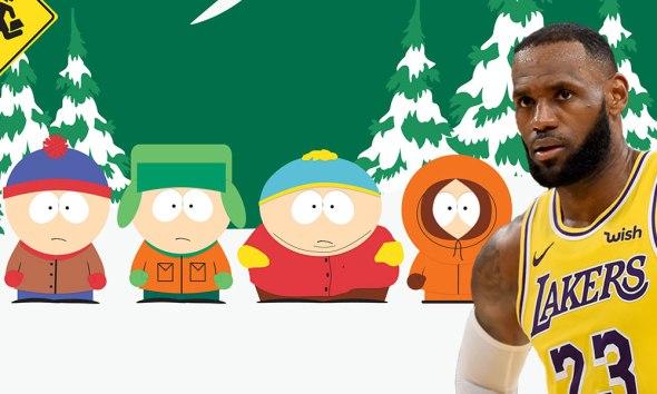 'South Park' critica a LeBron James