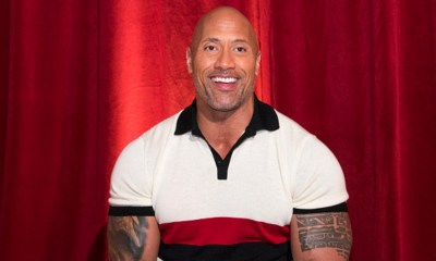 'The Rock' como Black Adam