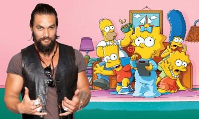 llegó Jason Momoa a The Simpsons