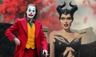 'Joker' y 'Maleficent' se dividen