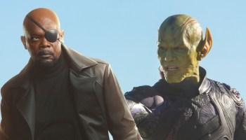 Nick Fury puede ser Skrull desde 'The Winter Soldier'
