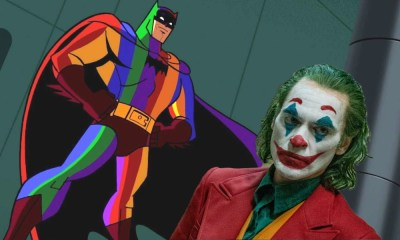 Rainbow Batman en Joker