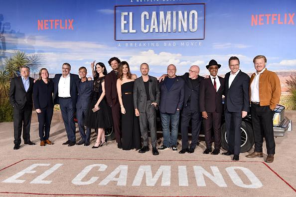 Walter White y Jesse Pickman se roban la premiere de 'El Camino' gettyimages-1179740441-594x594