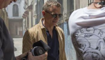 imágenes desde el set de 'James Bond, No Time to Die'