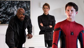 por qué el verdadero Nick Fury no apareció en spider man