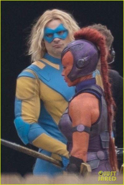 ¿Y Harley? Filtran fotos de los nuevos trajes de 'The Suicide Squad' the-suicide-squad-cast-set-photos-02