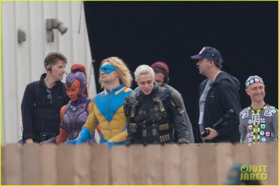 ¿Y Harley? Filtran fotos de los nuevos trajes de 'The Suicide Squad' the-suicide-squad-cast-set-photos-03
