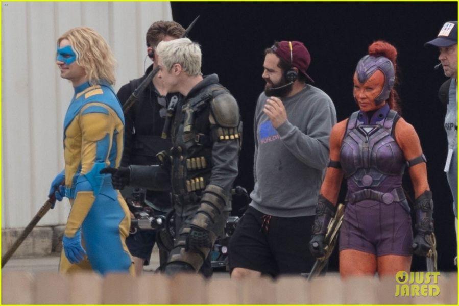 ¿Y Harley? Filtran fotos de los nuevos trajes de 'The Suicide Squad' the-suicide-squad-cast-set-photos-28