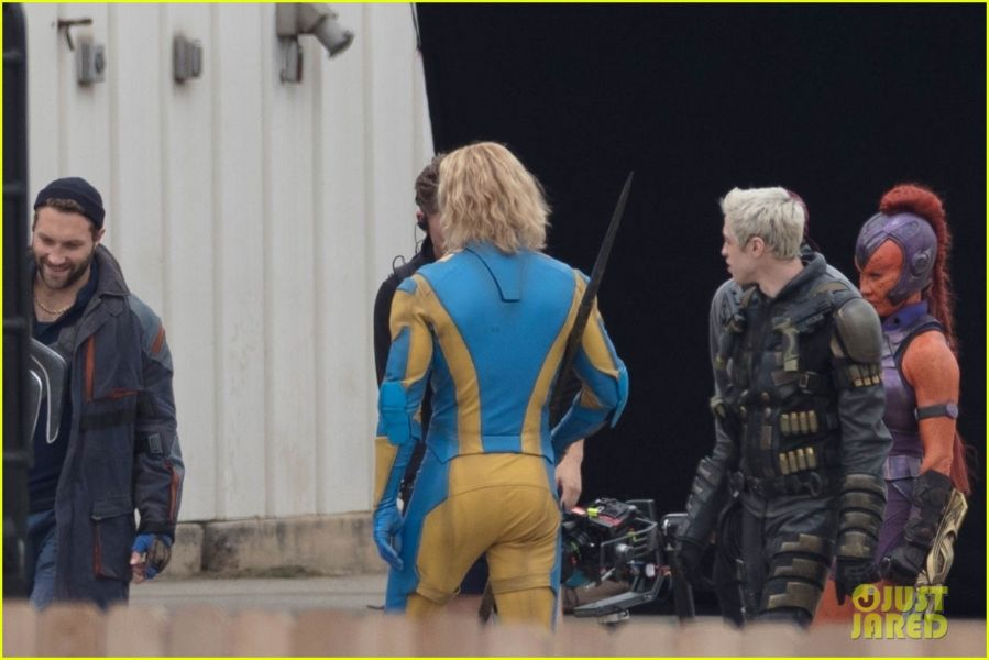 ¿Y Harley? Filtran fotos de los nuevos trajes de 'The Suicide Squad' the-suicide-squad-cast-set-photos-30