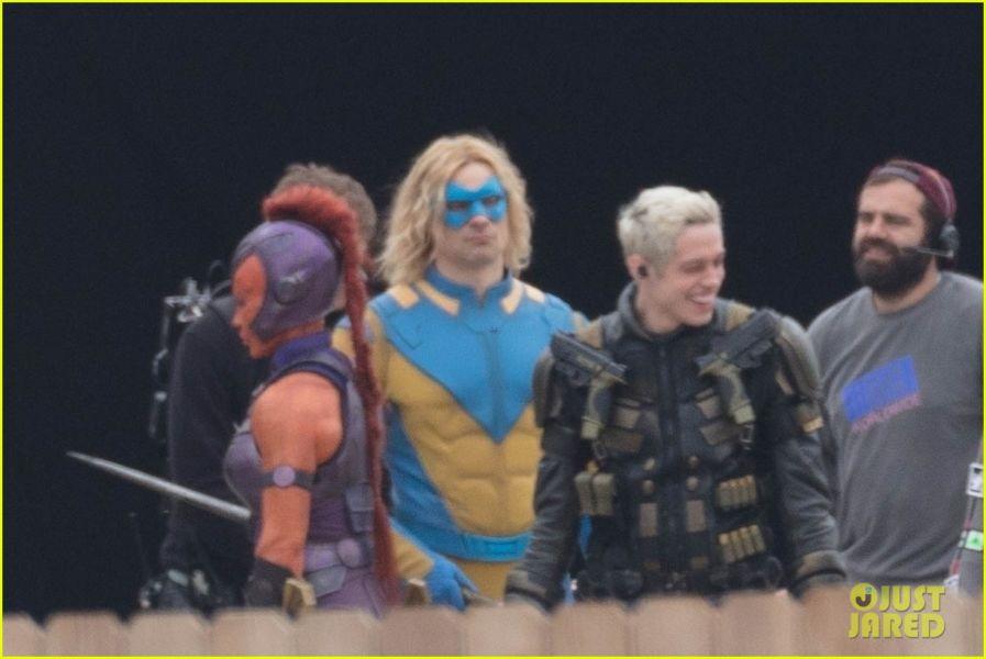 ¿Y Harley? Filtran fotos de los nuevos trajes de 'The Suicide Squad' the-suicide-squad-cast-set-photos-35