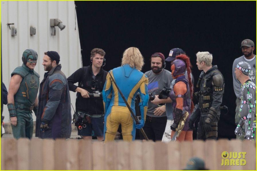 ¿Y Harley? Filtran fotos de los nuevos trajes de 'The Suicide Squad' the-suicide-squad-cast-set-photos-37