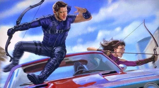 Disney+ reveló las primeras imágenes de Kate Bishop en 'Hawkeye' Captura-de-Pantalla-2019-11-12-a-las-10.20.13