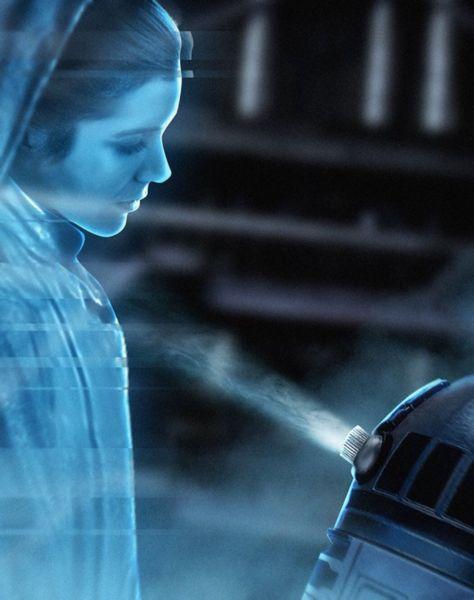 Revelan el futuro original de Carrie Fisher como
