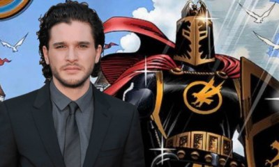 Filtraron foto de Kit Harington como 'Black Knight'