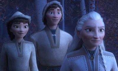 Pueblo indígena en 'Frozen 2'