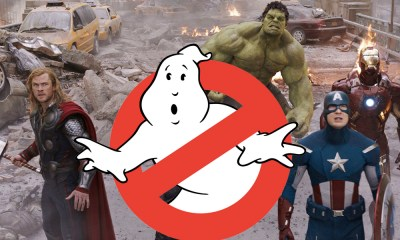 'Ghostbusters' inspiró 'The Avengers'