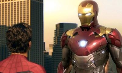 Spider-Man como Iron Man