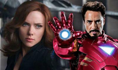 Iron Man en Black Widow