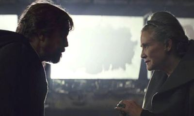 Luke mintió a Leia y a Han Solo sobre Kylo Ren