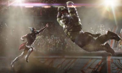 Mark Ruffalo y Chris Hemsworth improvisaron la pelea en ragnarok