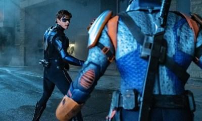 Nightwing contra Deathstroke en 'Titans'