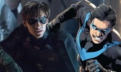 Nuevo traje de Nightwing