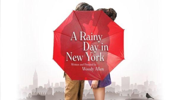 Timothée Chamalet y Elle Fanning brillan en 'A Rainy Day in New York' Rainy-Day-in-new-york-poste-600x338