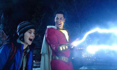Shazam le transfirió sus poderes a su padre