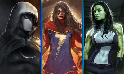 She Hulk Moon Knight y Ms Marvel aparecerán en el MCU