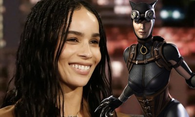 Look de Zoë Kravitz como Catwoman